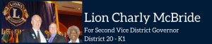 Lion Charly McBride dark blue